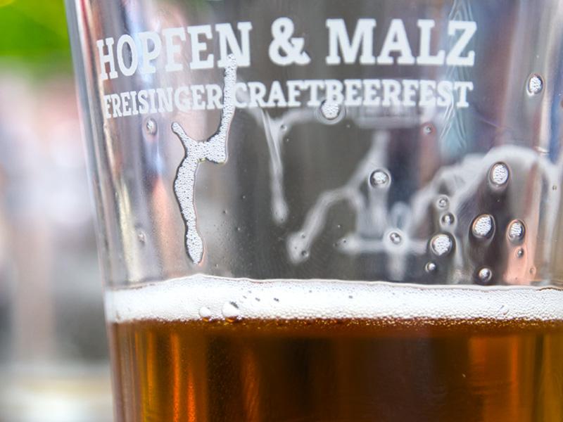 Hopfen & Malz Craftbeer-Festival in Freisings Innenstadt