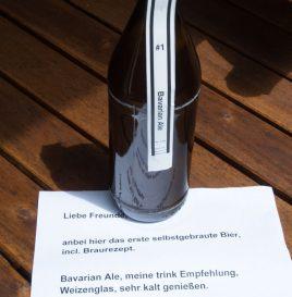 Erstlingsbier eines Hobbybrauers: Bavarian Ale