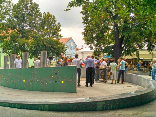 Der Hopfenschmecker - Über Biergenuss und mehr ... hat von einem Bierbrunnen in Slowenien gehört.
