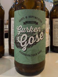 food&life 2016: Der Hopfenschmecker trinkt Hertl & Hopfmeisters Gurken-Gose