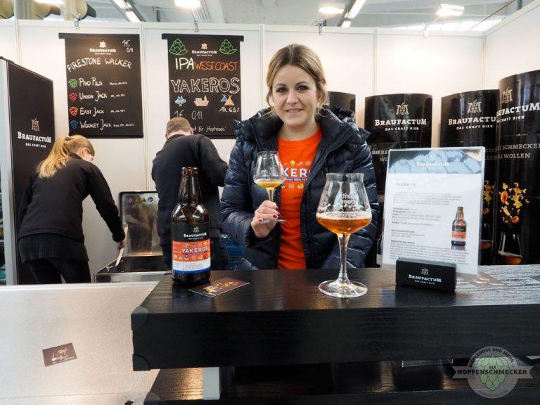 Hopfenschmecker bei Biersommelière Marita Michel von BraufactuM