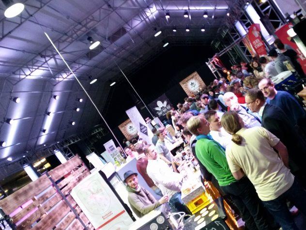 Über Biergenuss und mehr ... war auf dem Craftbierfest München 2017