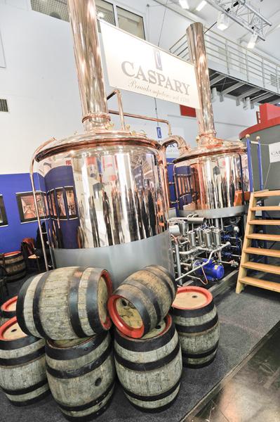 Der Hopfenschmecker besucht die drinktec 2017 und schaut sich Brauerei-Ausrüstung an