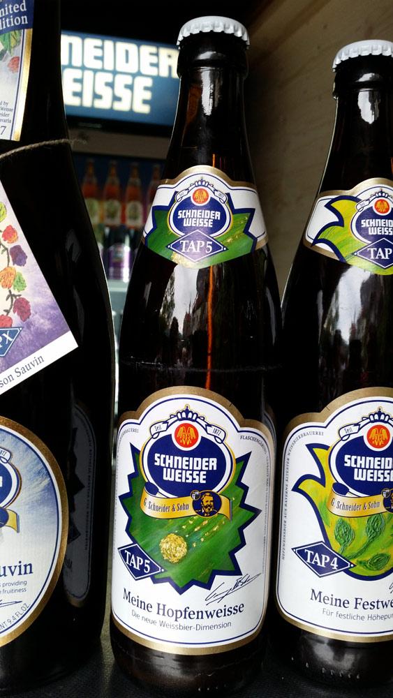 """Der Hopfenschmecker trank Schneider Weisse """"Meine Hopfenweisse"""""""