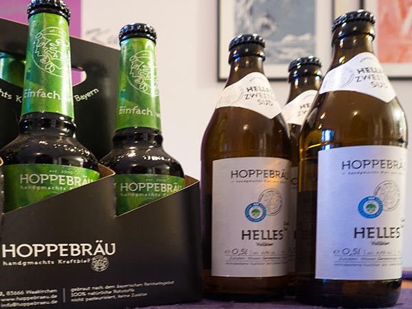 Wuider Hund und Helles Sud 2 vom Hoppebräu für den Hopfenschmecker