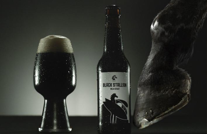 Der Hopfenschmecker hat einen Spot für Black Stallion aus Neuseeland zugeschickt bekommen