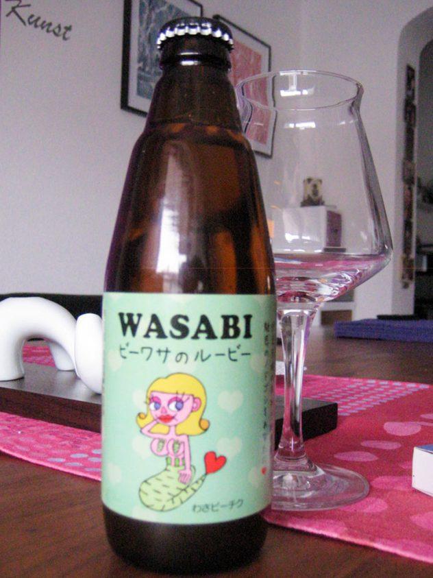 Der Hopfenschmecker hat Wasabi-Bier probiert